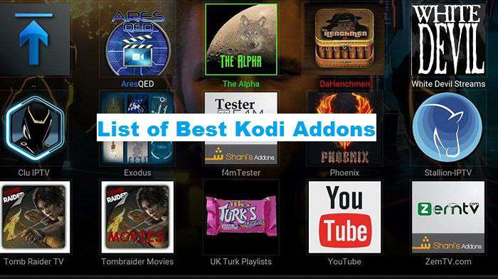 List of Best Kodi Addons for 2020