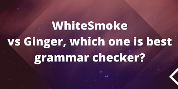 ginger vs whitesmoke