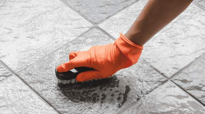 Tips For Cleaning Grout Of Tiles Floor