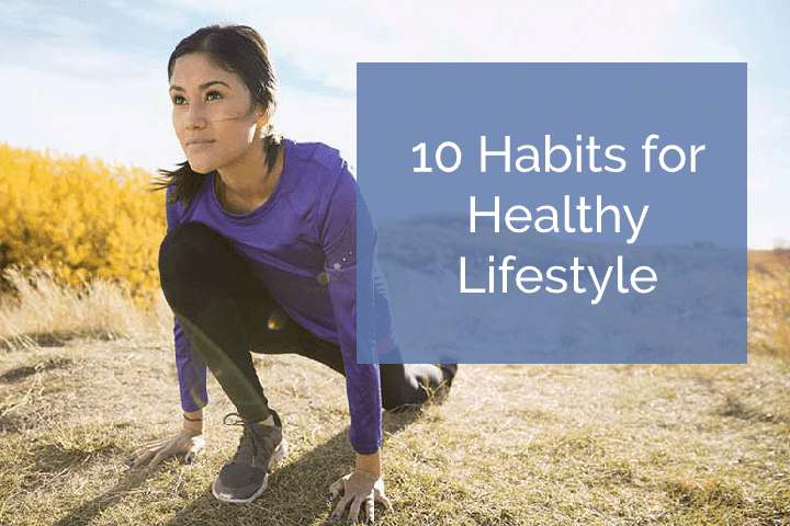 habits for a healthy lifestyle