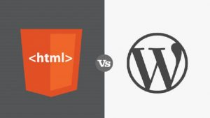 Why WordPress Technology is Chosen Best Against HTML