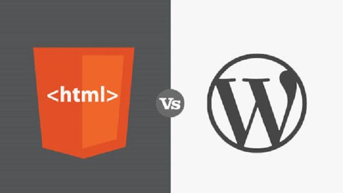 Why WordPress Technology is Chosen Best Against HTML